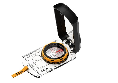 Silva Kompass Compass Expedition S, Transparent, one size