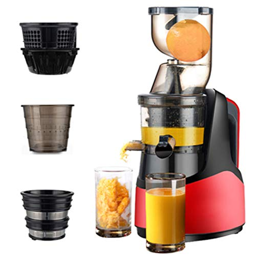 150W Juicer Household Fruit Automatic220V Small Fruit And Vegetable Residue Juice Separation Multi-function 2000ml Raw Juice Machine Fried Juice Machine 50dB
