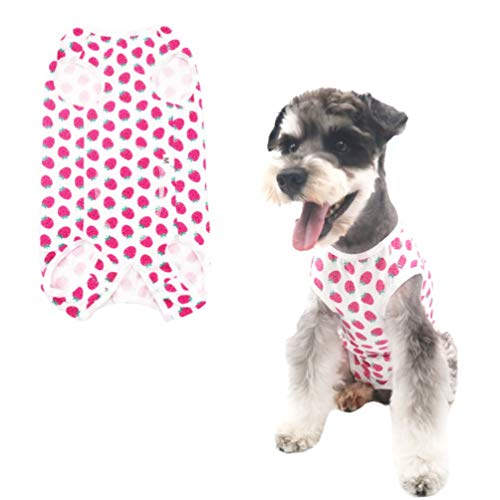 Home Indoor Pets Clothing Blue /& White Stripes XL After Surgery Wear E-Collar Alternative for Dogs Due Felice Dog Professional Surgical Recovery Suit for Abdominal Wounds Skin Diseases