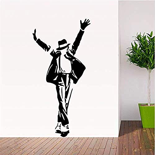 Muurstickers Art Decal Vinyl Murals Forever King of Pop Music Fans Kamer 8489. Adesivo De Paredes Huiskunst