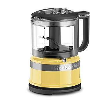 KitchenAid KFC3516MY 3.5 Cup Mini Food Processor, Majestic Yellow