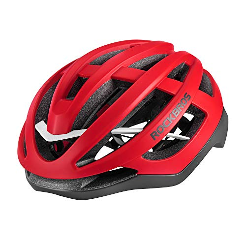 ROCK BROS Road Bike Helmet for Men Women Adult Bicycle Cycling Helmet CPSC Certified Lightweight Mountain Helmet