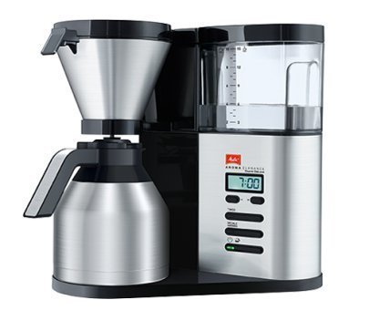 Melitta Aroma Elegance Therm Deluxe Filter Kaffeemaschine mit 250g Kaffee