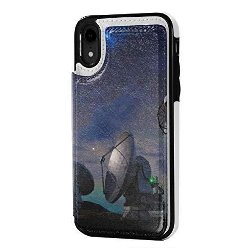 MoMo caso di iPhone XR stazione radar del cuoio della carta di credito del supporto della fessura Soft Cover di protezione di chiusura