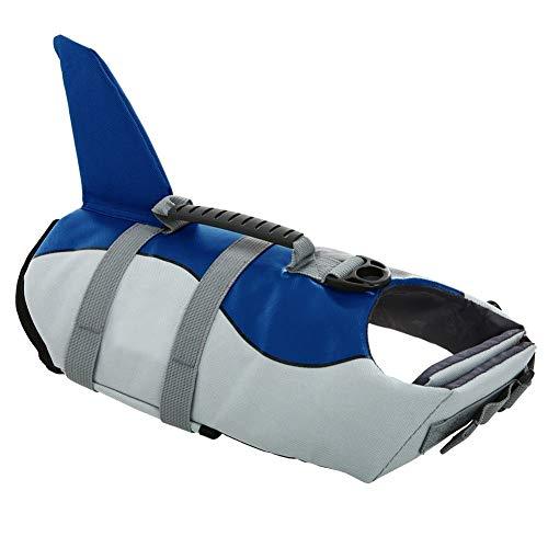 Dog Life Jackets, Ripstop Pet Floatation Life Vest for Small, Middle, Large Size Dogs, Dog Lifesaver...