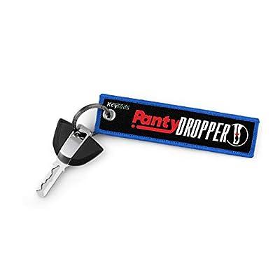 KEYTAILS Keychains Premium Quality Key Tag Cars, Trucks, Motorcycles, Sportbikes, USDM, JDM, KDM [Panty Dropper] by