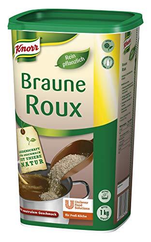 Knorr Braune Roux Mehlschwitze (sofortige, stabile Saucen Bindung) 1er Pack (1 x 1kg)