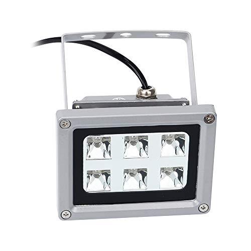 Festnight Lampada di polimerizzazione con resina UV per SLA/DLP Accessori per stampanti 3D Solidificare resina di materiale fotosensibile 6pcs 405nm Luci a LED UV con effetto di 60 w