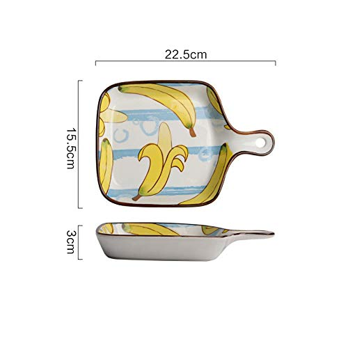 Oven bakplaat keramiek huishouden met handvat western food i servies schotel bord