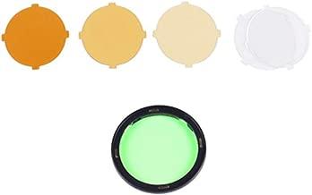 Godox AK-R16 Color Filters,Compatible for Godox H200R Round Flash Head, Godox V1 Flash Series,V1-S,V1-N,V1-C,AD200 Pro,AD200