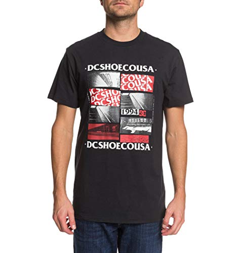 DC Shoes Under Empire - T-Shirt pour Homme T-Shirt Homme Black FR : M (Taille Fabricant : M)
