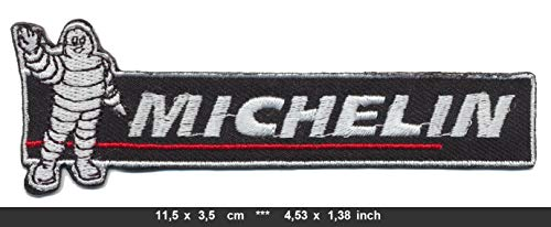 Michelin Patches Aufnäher Bügelbild Motorsport Reifen Tires Formel 1 F1