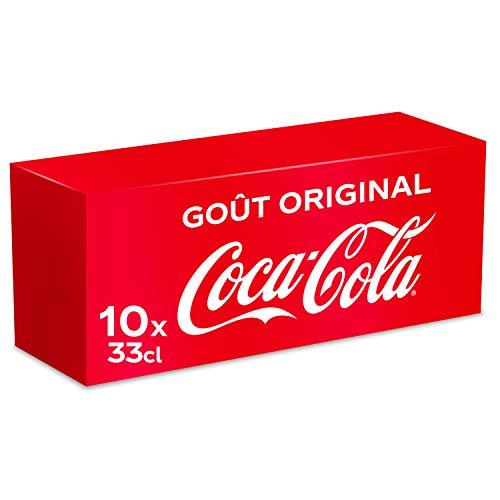 Coca-Cola Canette Boite Frigo Pack 10 x 33 cl