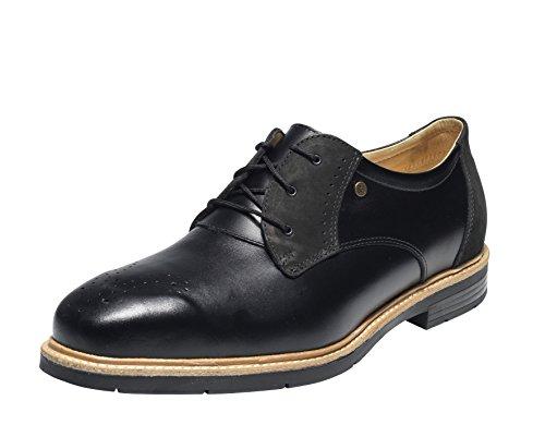 Emma Sicherheit Schuhe - Schwarz 2Tone S3 Lo Herren Business Sicherheit Schuh - Frontier 114, 41 EU / 7 UK