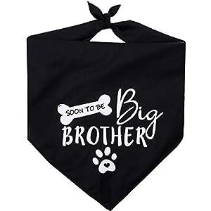 Pawskido Big Brother Dog Bandana Reversible Triangle Bibs Pet Scarf