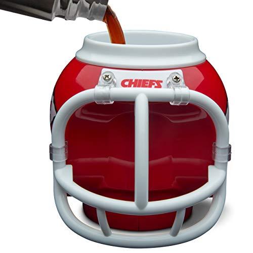 Kansas City Chiefs FanMug NFL Tasse, Becher, Sammelbehälter, Dosenhalter