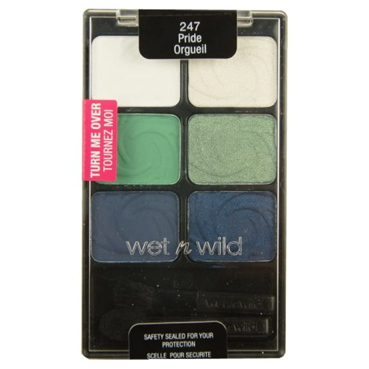 すごい絶えず懸念(3 Pack) WET N WILD Color Icon Eyeshadow Palette - Pride (DC) (並行輸入品)