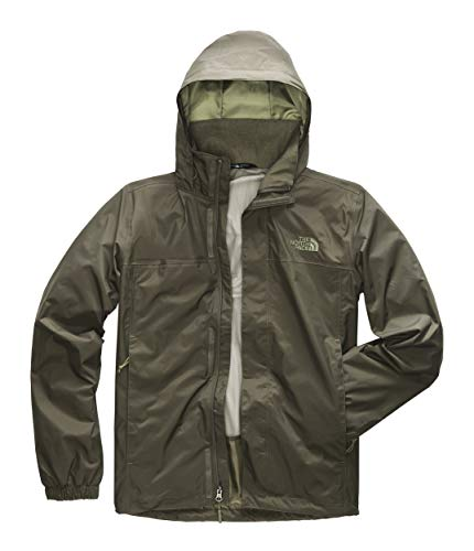 The North Face Men's Resolve Jacket, New Taupe Green, Large