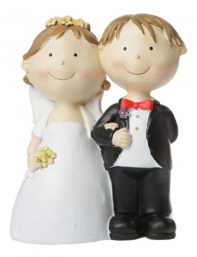 Spartopf Spardose Brautpaar, ca. 21 cm, stehend