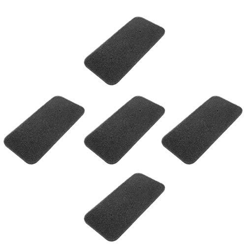 vhbw Set de filtros (5x filtro de esponja) compatible con Candy CS H10A2DE-S 31100933, CS H7A2DE-S 31100925 secadoras de ropa