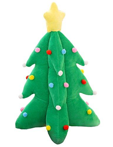 THEE Árbol de Navidad Cojín Almohada Peluche para Navidad