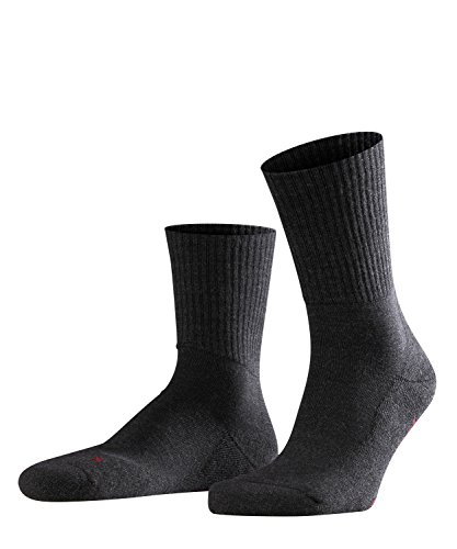 FALKE Unisex Socken, Walkie Light U SO-16486, Grau (Anthracite Melange 3080), 44-45