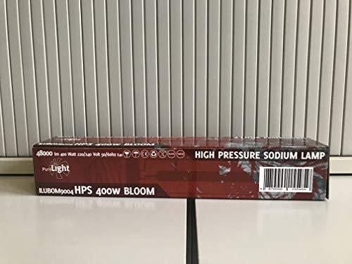 Purelight NDL Blüte 400 W, Natriumdampflampe für Blütephase [erhältlich als 250, 400 oder 600 W]