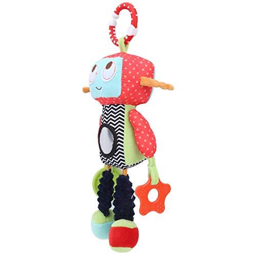 QQZQQ Materiales de Lujo de Alta U2011Calidad, Juguete muñeco Multifuncional, Juguete de muñecas Colgantes, no u201xico, Cama para Carrito de bebé niños (Robot Torno Colgando) 1227dmsjwawa-2781