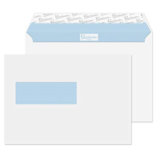 Premium Office 34266NL Holländisches Fenster Briefumschlag Haftklebung Ultra Weiß Wove C5 162 x 229 mm 120g/m²   500 Stück