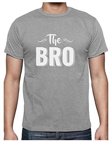 Cadeau frere idees Cadeaux Homme Tee Shirt The Bro T-Shirt Homme X-Large Gris Chiné
