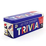 Ginger Fox After Dinner Trivia Game for The Family - Includes 6 Classic Trivia