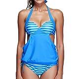 Momoxi Badeanzug Damen Sommer Frauen-reizvoller Patchwork-Sport-Bikini-Badeanzug-Badebekleidung, die Patchwork-Strandkleidung Baden Bikini