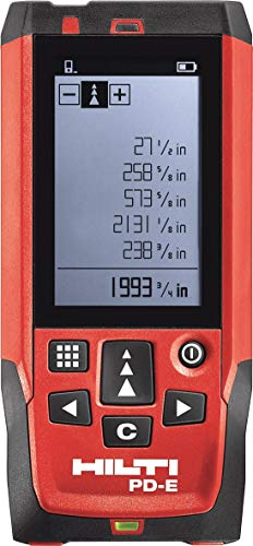 HIlti 3508185 Laser range meter professional kit PD-E measuring systems