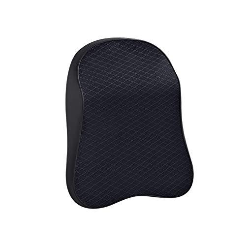 Tucki Nuevo cuello de cuello de cuello Ajustable Memoria 3D Cabeza de espuma Ajuste para accesorios para automóviles Automóvil Auto almohada Cojín de cuello de viaje ( Color : Small black headrest )