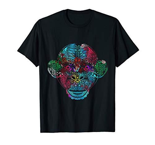 Bunter Affe T-Shirt