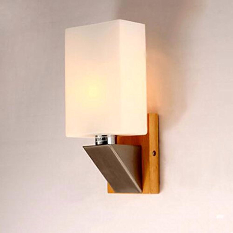 Pouluuo Wandlampe Lampe LED Lampe Holzwand original Stil ...