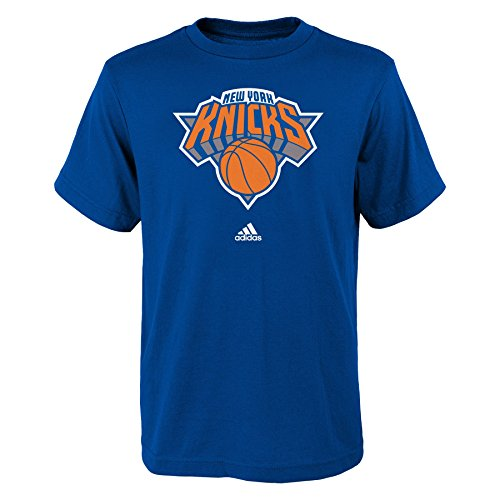 NBA New York Knicks Jungen T-Shirt, kurzärmelig, Gr. XL (46), Königsblau