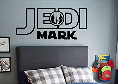 VinMea gauan Wall Art Stickers Quotes and Sayings Jedi Mark for Nursery Kids Room Bedroom