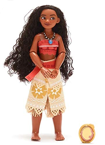Vaiana Disney muñeca articulada con colgante original Disney