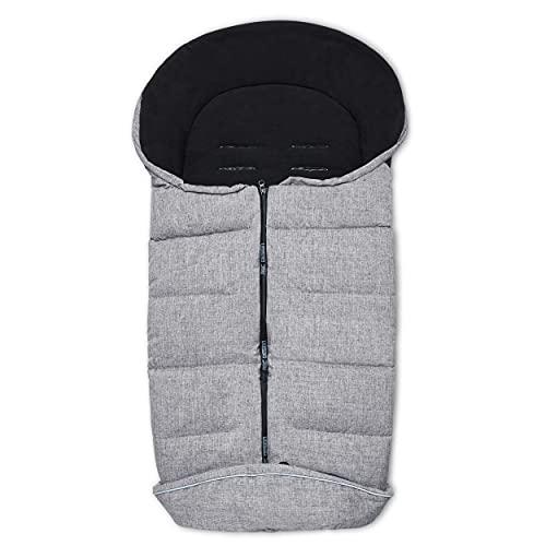 ABC Design Chancelière d'hiver accessoires pour poussette, graphite grey