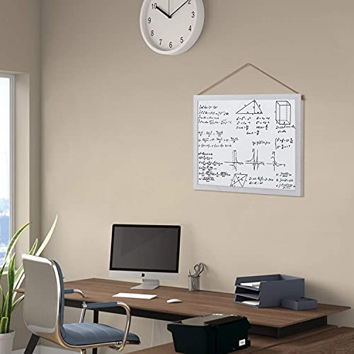 Emfogo Cork Board with 19x15 inch Combination White Board & Bulletin Cork Board 1-Pack Bulletin Board for Wall Home Office Decor,Home School Office Message Board or Vision Board Photo #5