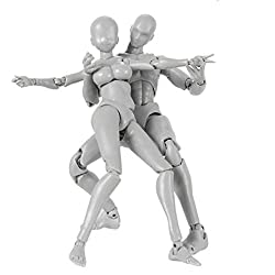 powerful Drawing a person mannequin with different eyes Movable gesture Joint body Kun-chan model …