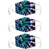 [page_title]-MRULIC Mundschutz Gesichtsschutz Face Cover Motorrad Winddicht Atmungsaktiv Bandana Unisex Halstuch Schal 3D Print Mund-Tuch Mundbedeckung Anti-Staub(C11)