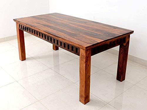 Khatu Decor Wooden 6 Seater Dining Table