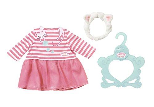 Baby Annabell 701454 Kleid Katzenberger, bunt