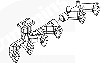 Exhaust manifold 3967751/3937477 Cummins diesel engine parts ISC 8.3L 300HP