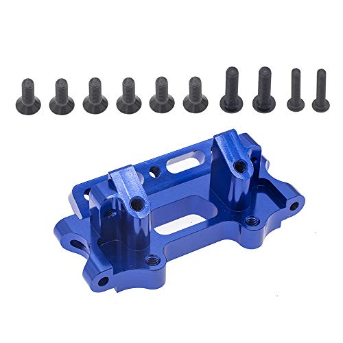 Aluminum Front Bulkhead Upgrade Parts for 1/10 Traxxas Slash 2WD Rustler Stampede Bandit Replace 2530 2530A