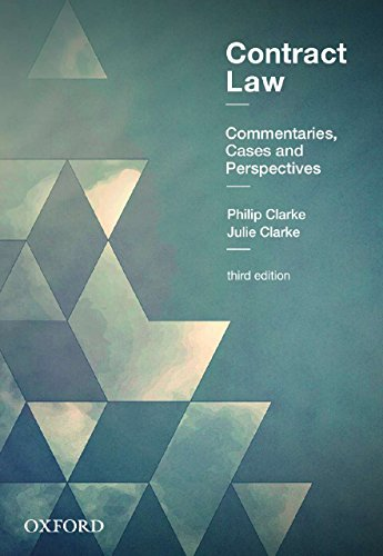 Contract Law: Commentaries, Cases and Perspectivesの詳細を見る
