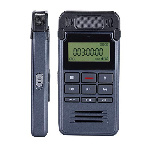 VbestLIFE Mini 8 GB digitale voice recorder met scherm, multifunctionele draagbare MP3-speler, audio-/telefoonopname, intelligente ruisonderdrukking, ingebouwde microfoon.