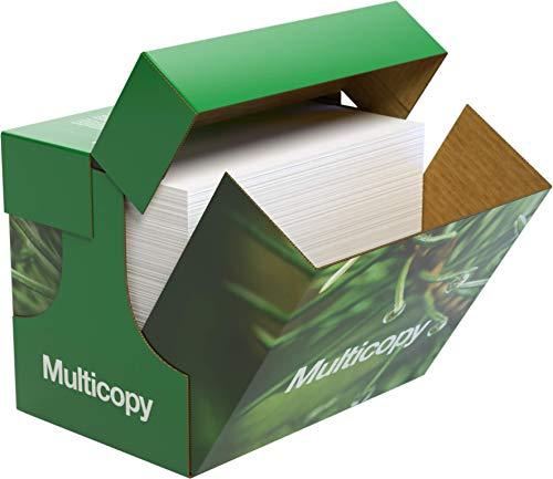 Papyrus 88046519 Kopierpapier Druckerpapier MultiCopy: 80 g/qm², A4, Weiß, 2500 Blatt - Exzellentes Druckergebnis mit Umweltbewusstsein